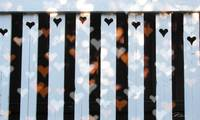 Hearts on the Fence