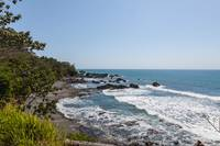 Rocky Coastline on the pacific coast of Costa Rica