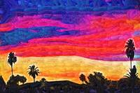 Sunset Color Wheel by Kirt Tisdale