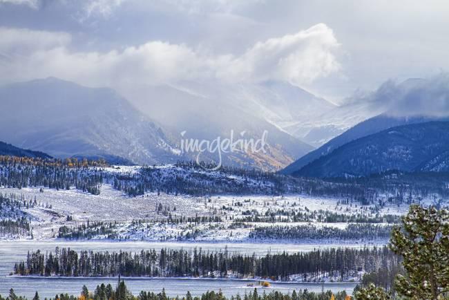 Colorado Rocky Mountain Autumn Storm