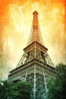 Eiffel Tower Warmth by Carol Groenen