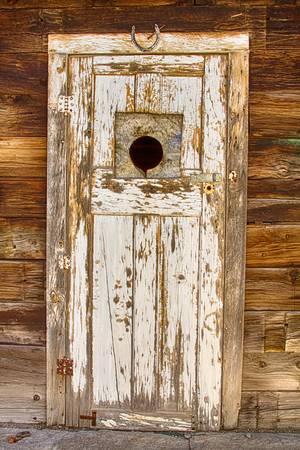 Classic Rustic Rural Worn Old Barn Door