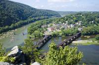 View of Harper's Ferry from Maryland Heights