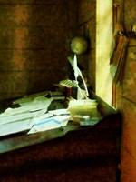 Lawyer - Desk With Quills and Papers