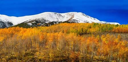 Colorado Rocky Mountain Independence Autumn Pano 2