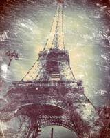 Eiffel Tower, Daguerreotype-like treatment