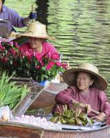 Women at Floating Market