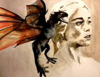 Daenerys Khaleesi Mother Of Dragons