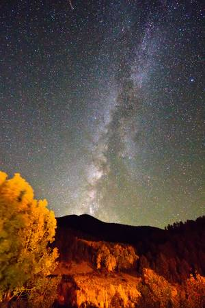 Autumn Milky Way Night Sky