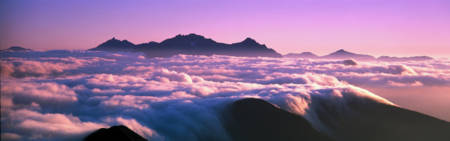 Mountaintop Cloudscape Japan