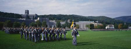 West Point Cadets Marching