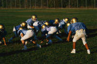 Junior Football Practice