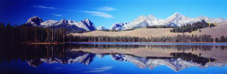 Little Redfish Lake Mountains ID
