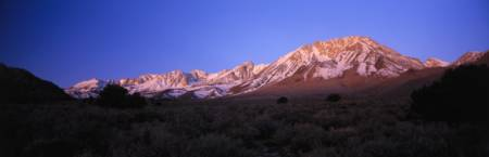 Mt Tom Eastern Sierra Nevada Mountain Range CA