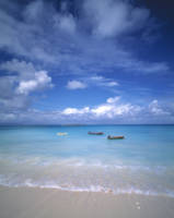 Boats Tropical Caribbean Sea Antilles