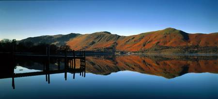 Derventwater Cumbria The Lake District England
