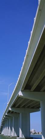 Low angle view of a bridge