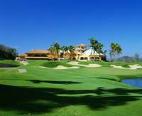 Golf course at Isla Navadad Resort in Manzanillo