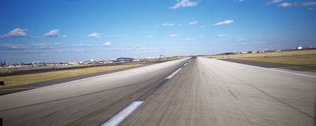 Runway at an airport