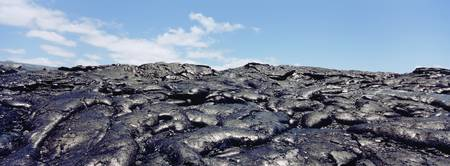 Lava rocks on a landscape