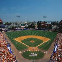 """Mets Game at Shea Stadium"" by Panoramic_Images"