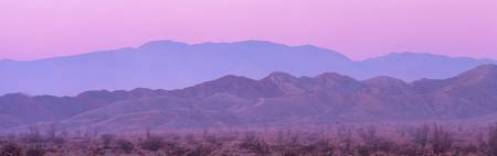 Desert at Sunrise Anza Borrego CA