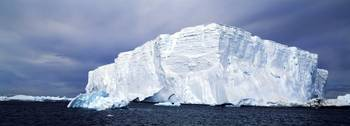 Iceberg in the sea Weddell Sea Antarctica