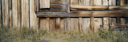 Detail of Wooden Barn