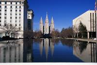 Historic Temple Square Salt Lake City UT