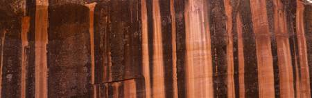 Striations in Rock Capitol Reef National Park UT