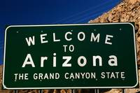 Welcome to Arizona State Sign