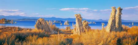 Tufa Formations Mono Lake CA
