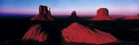 Sunset Monument Valley Tribal Park UT