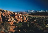 The Fiery Furnace Rocks Arches National Park UT