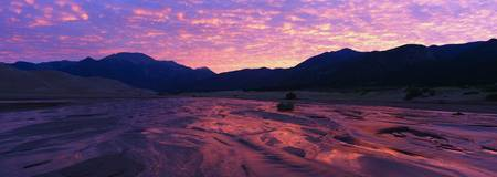 Sunrise Great Sand Dunes National Monument CO