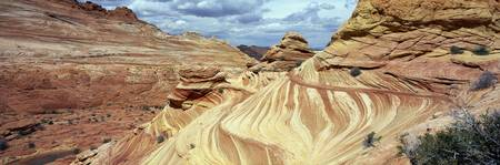 The Wave Navajo Sandstone Formation Vermilion Cli