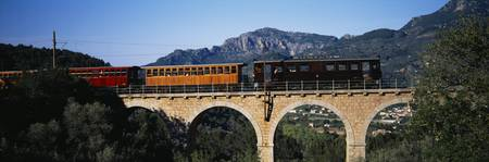Train Tramuntana Mallorca Spain