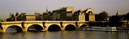Pont Neuf Ile Ste Louis Paris France