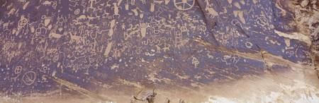 Petroglyphs Newspaper Rock State Park UT