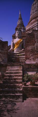 Statue of Buddha in a temple