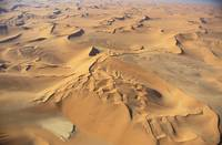 Aerial View of Namibia Africa