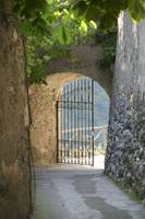 Gate of a villa