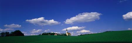 Rural Scene with Church