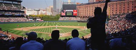 Camden Yards Baseball Game Baltimore Maryland