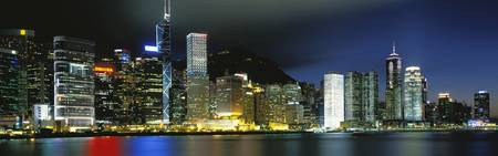 View fr Wanchai Central District Hong Kong