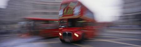 Double-decker Buses London England
