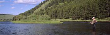 Fly Fishing Big Hole River Deer Lodge MT