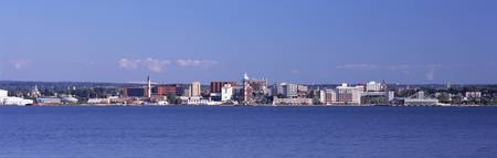 City viewed from Presque Isle State Park Lake Eri
