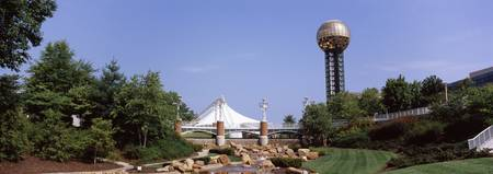 Sunsphere in a fair Worlds Fair Park Knoxville Kn