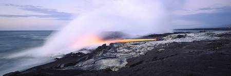 Kilauea Volcano Volcanoes National Park HI